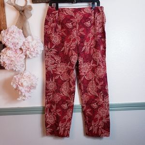 KATHIE LEE Vacay Vibe Pants SZ 14